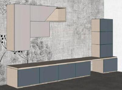 Progetto Living Soggiorno 112